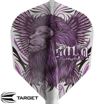 Dart Flights - Target - 8 Flight Pro Player - Standard Dart Flights Keita Ono