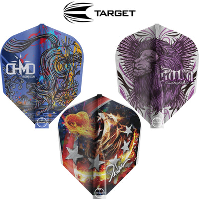 Dart Flights - Target - 8 Flight Pro Player - Standard Dart Flights
