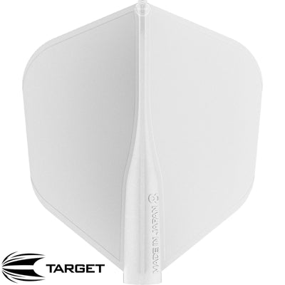 Dart Flights - Target - 8 Flight - Standard Dart Flights White
