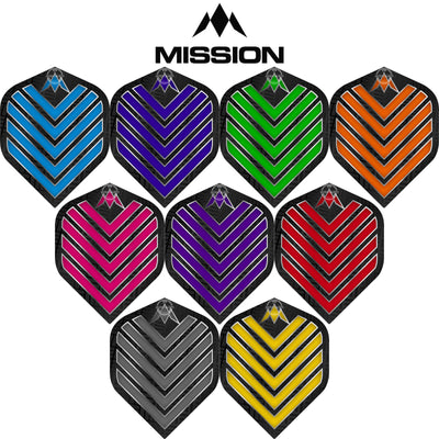 Dart Flights - Mission - Admiral - Big Wing Dart Flights