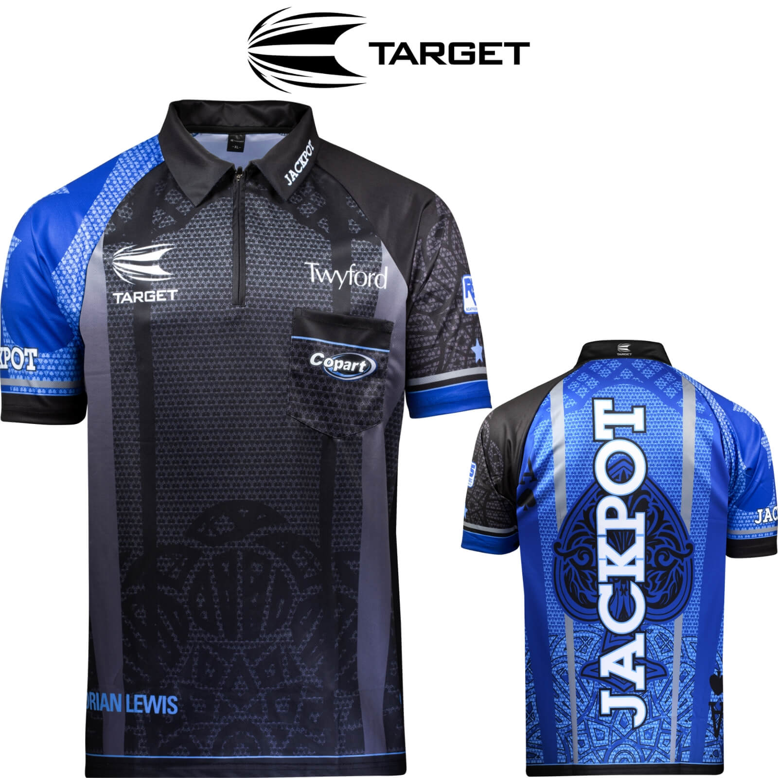 Dart Shirts - Target - Official Adrian Lewis Gen 3 Dart Shirts - XS to 5XL