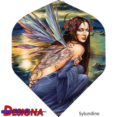 Dart Flights - Designa - Alchemy - Big Wing Dart Flights Sylundine