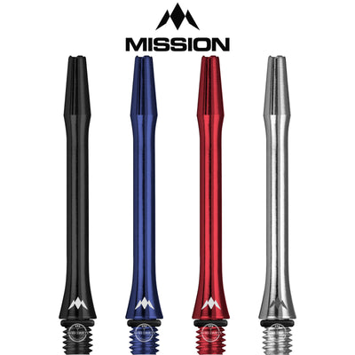 Dart Shafts - Mission - AliCross Aluminium Dart Shafts