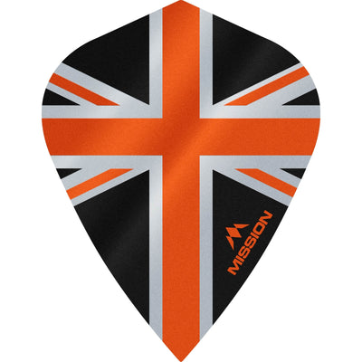 Dart Flights - Mission - Alliance - Kite Dart Flights Orange