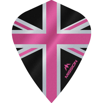 Dart Flights - Mission - Alliance - Kite Dart Flights Pink