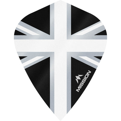 Dart Flights - Mission - Alliance - Kite Dart Flights White