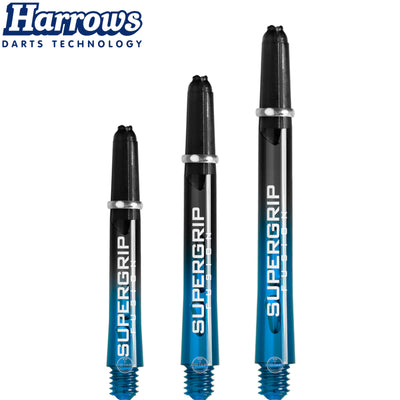 HARROWS Darts - Shafts - Supergrip Fusion-X Shafts - Short (35mm) / Aqua