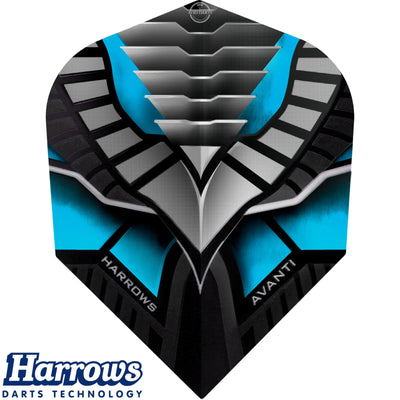 Dart Flights - Harrows - Avanti - Standard Dart Flights Blue