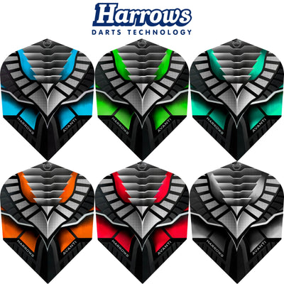 Dart Flights - Harrows - Avanti - Standard Dart Flights