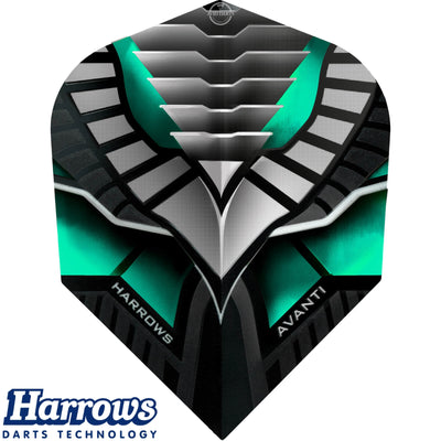 Dart Flights - Harrows - Avanti - Standard Dart Flights Jade