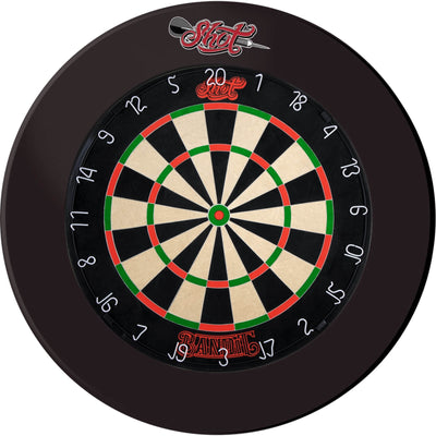 Dartboards - Shot - Bandit Dartboard & Surround Package Black