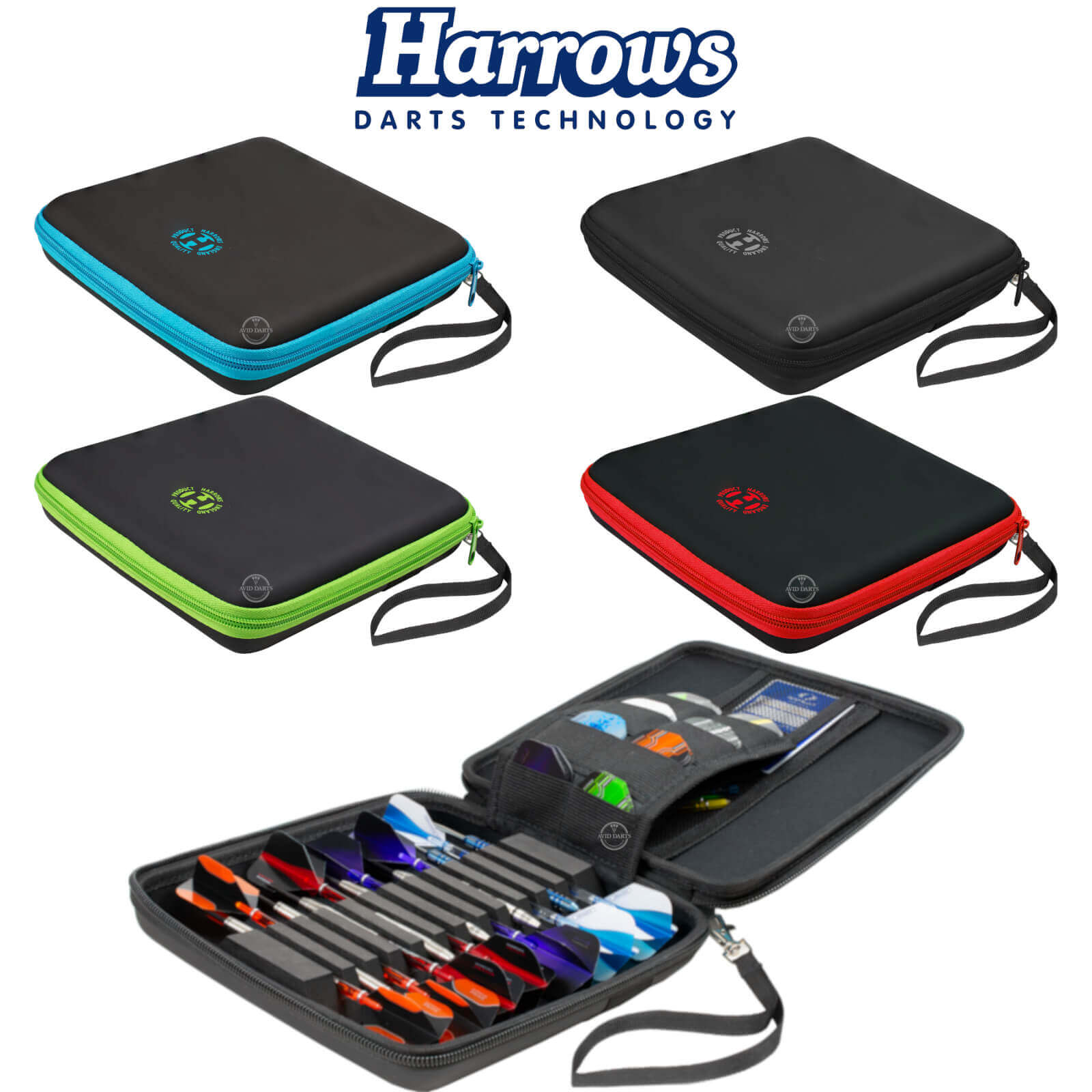 Dart Cases - Harrows - Blaze Pro 12 Dart Cases