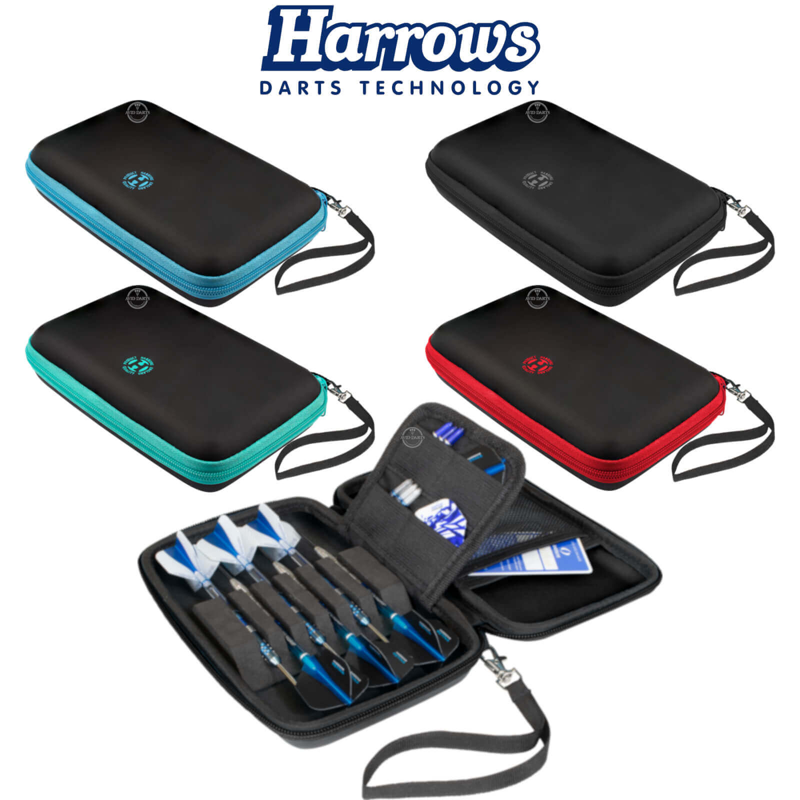 Dart Cases - Harrows - Blaze Pro 6 Dart Cases