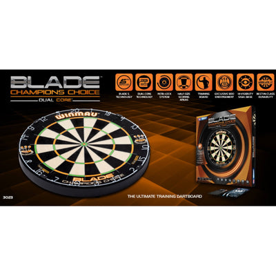 Dartboards - Winmau - Blade Champions Choice Dual Core Dartboard