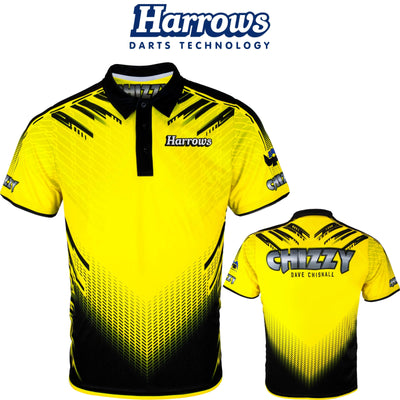Dart Shirts - Harrows - Chizzy - Dave Chisnall Dart Shirt - S to 5XL