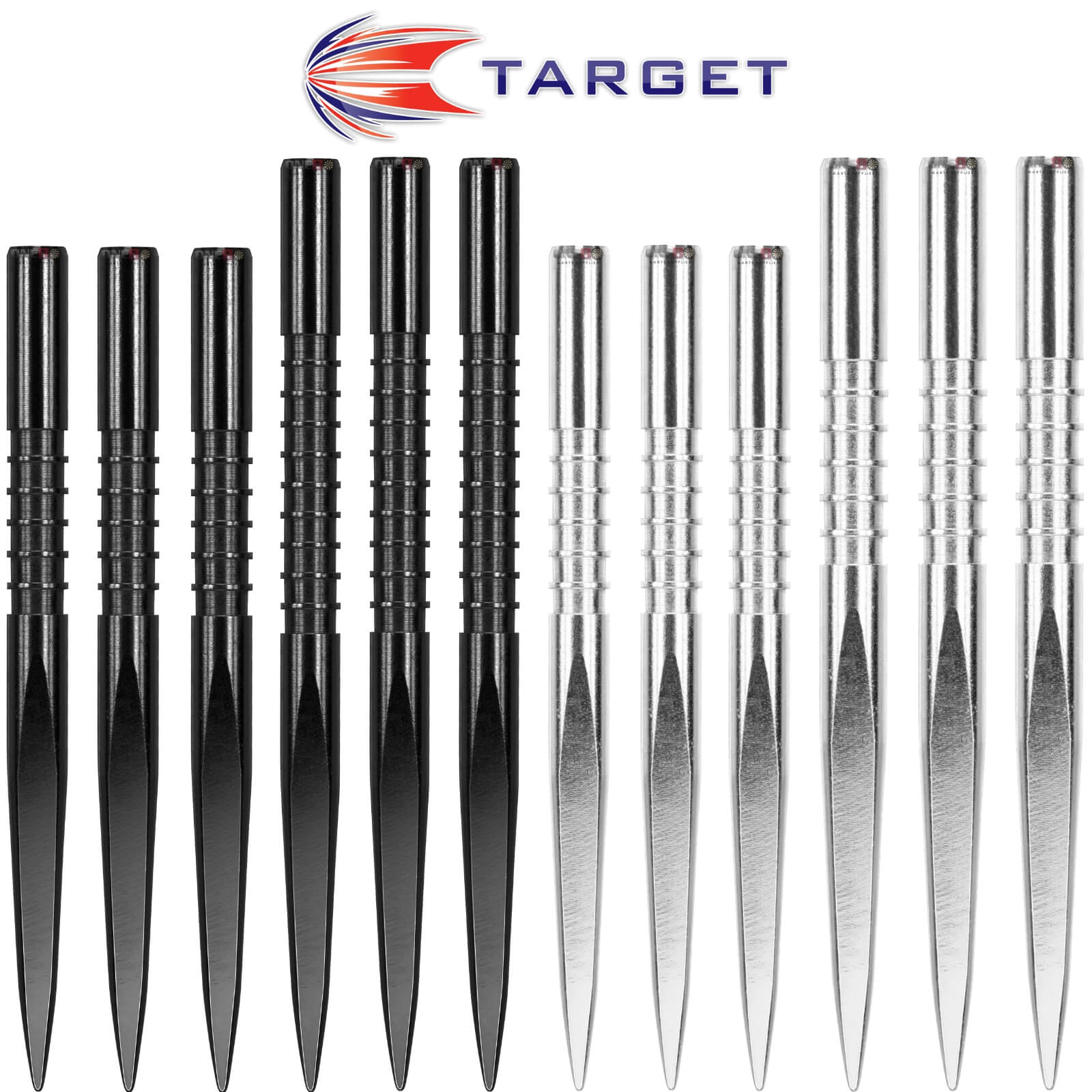 Point Accessories - Target - Fire Edge Dart Points - 32mm 36mm