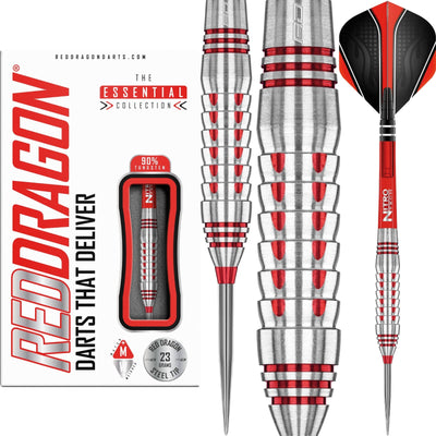 Darts - Red Dragon - Firebird Darts - Steel Tip - 90% Tungsten - 23g 25g