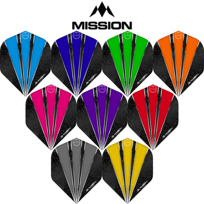 Dart Flights - Mission - Flare - Big Wing Dart Flights