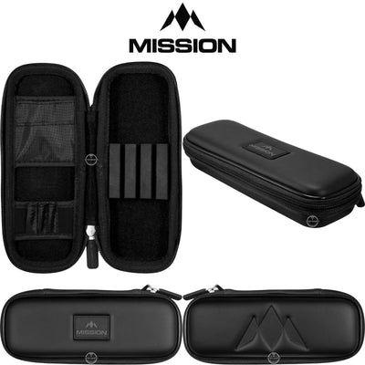 Dart Cases - Mission - Freedom Slim Darts Case Black