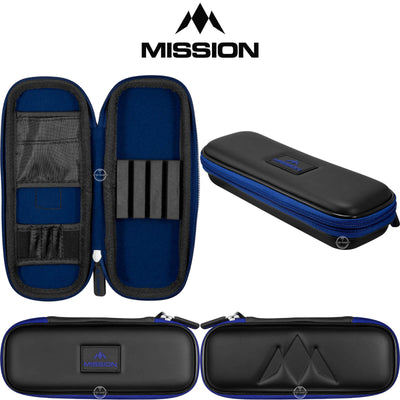 Dart Cases - Mission - Freedom Slim Darts Case Blue