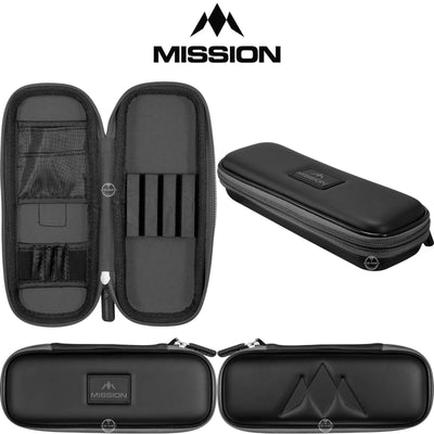 Dart Cases - Mission - Freedom Slim Darts Case Grey