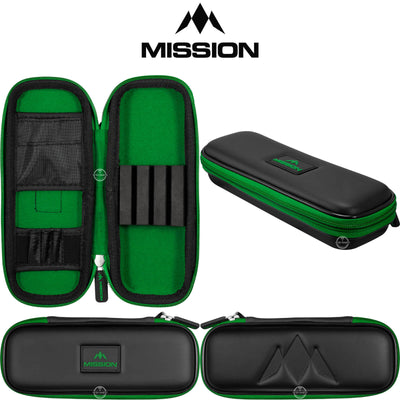 Dart Cases - Mission - Freedom Slim Darts Case Green