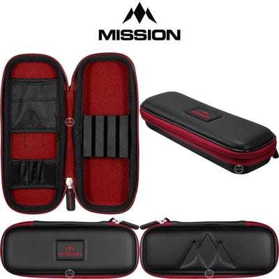 Dart Cases - Mission - Freedom Slim Darts Case Red