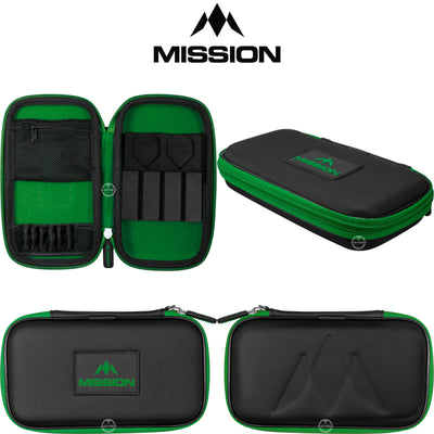 Dart Cases - Mission - Freedom XL Darts Case Green