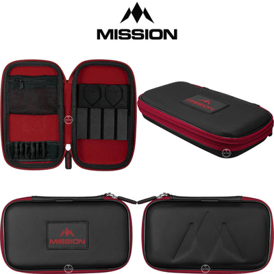 Dart Cases - Mission - Freedom XL Darts Case Red