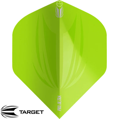 Dart Flights - Target - ID Pro Ultra - Big Wing Dart Flights Green