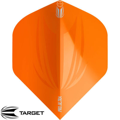 Dart Flights - Target - ID Pro Ultra - Big Wing Dart Flights Orange