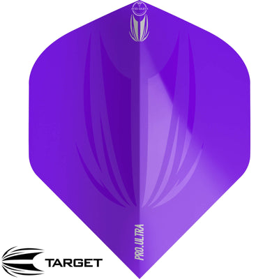 Dart Flights - Target - ID Pro Ultra - Big Wing Dart Flights Purple