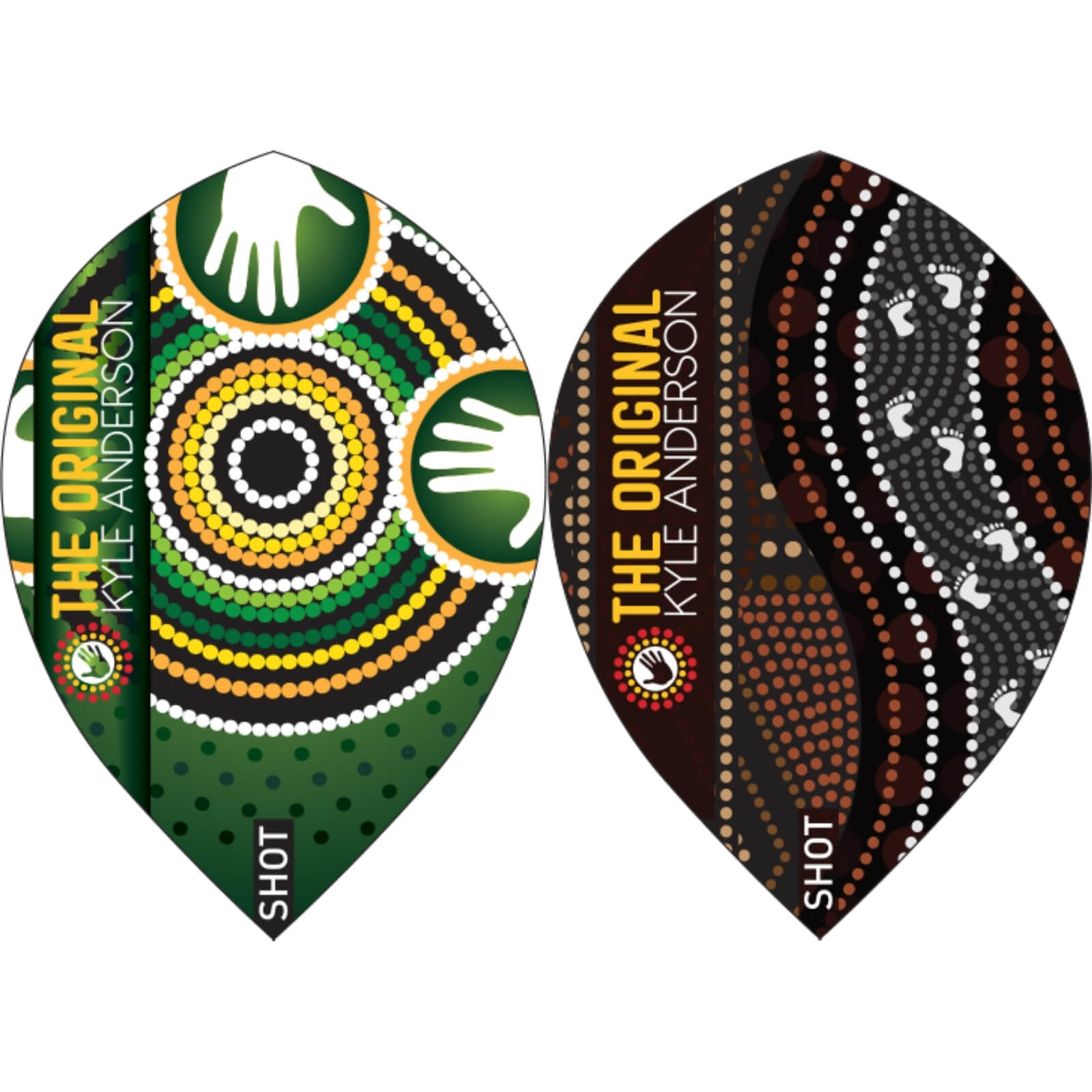 Dart Flights - Shot - Kyle Anderson - Pear Dart Flights