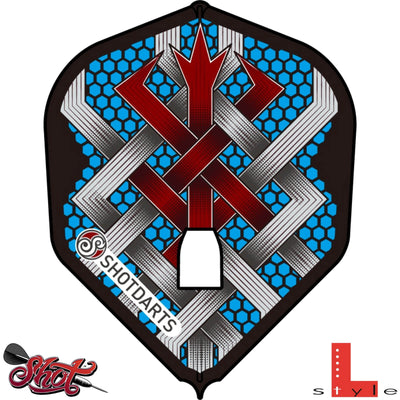 Dart Flights - Shot - L-Style - Standard (L3) Dart Flights Berserker