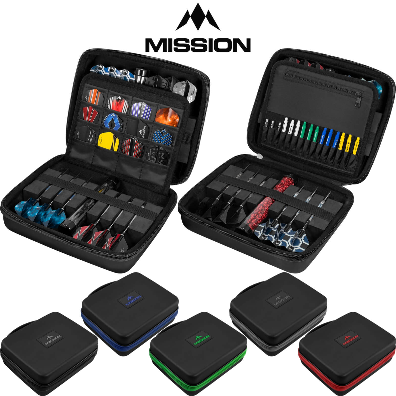 Dart Cases - Mission - Freedom Luxor Darts Case
