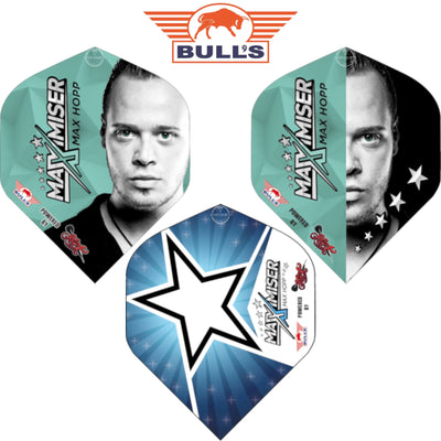 Dart Flights - Bulls - Max Hopp - Big Wing Dart Flights