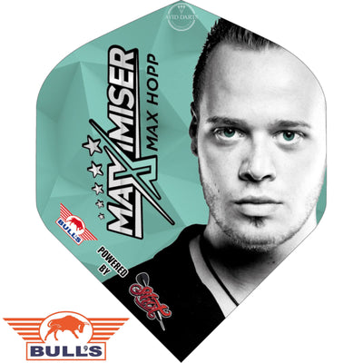 Dart Flights - Bulls - Max Hopp - Big Wing Dart Flights Full Face