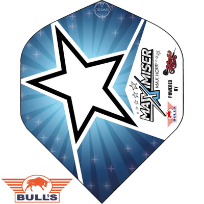 Dart Flights - Bulls - Max Hopp - Big Wing Dart Flights Star