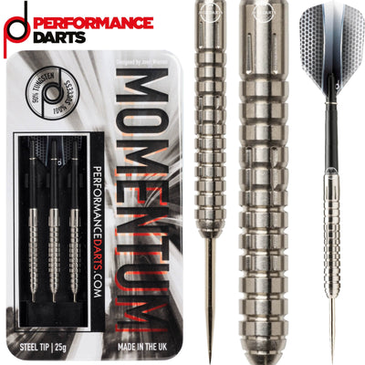 Darts - Performance Darts - Momentum - Steel Tip - 90% Tungsten - 23g 25g