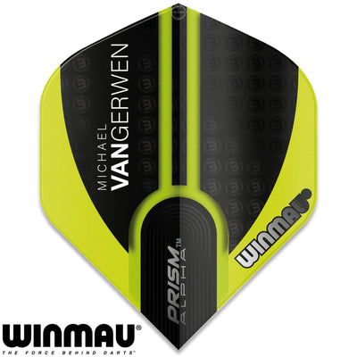 Dart Flights - Winmau - MvG Prism Alpha - Big Wing Dart Flights 144