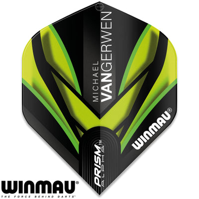 Dart Flights - Winmau - MvG Prism Alpha - Big Wing Dart Flights 145