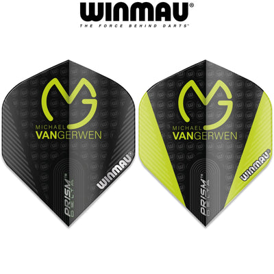 Dart Flights - Winmau - MvG Prism Delta - Big Wing Dart Flights