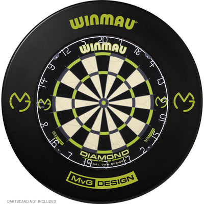 Dartboard Accessories - Winmau - MvG Design Dartboard Surround