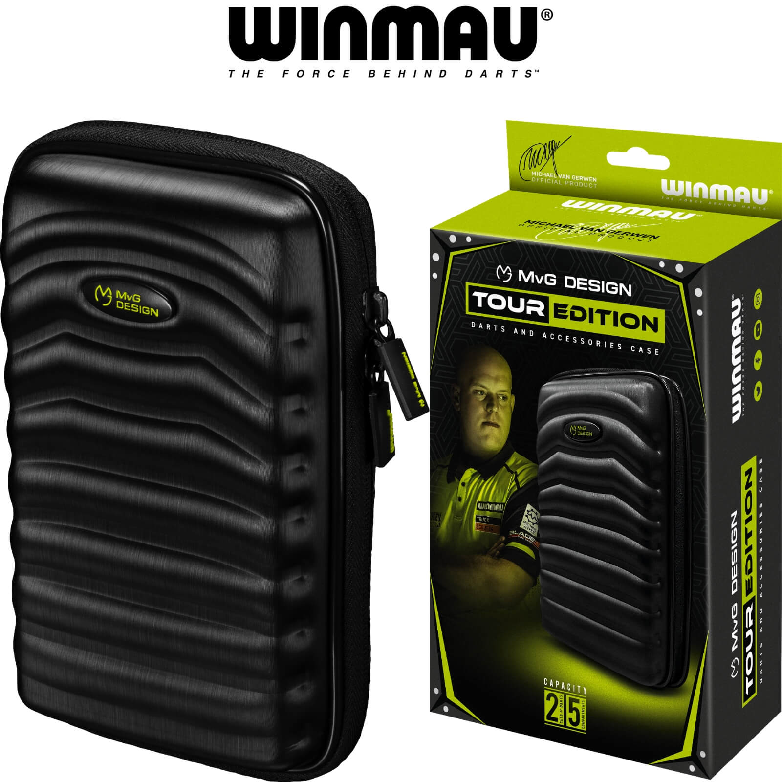 Dart Cases - Winmau - MvG Tour Edition Dart Case