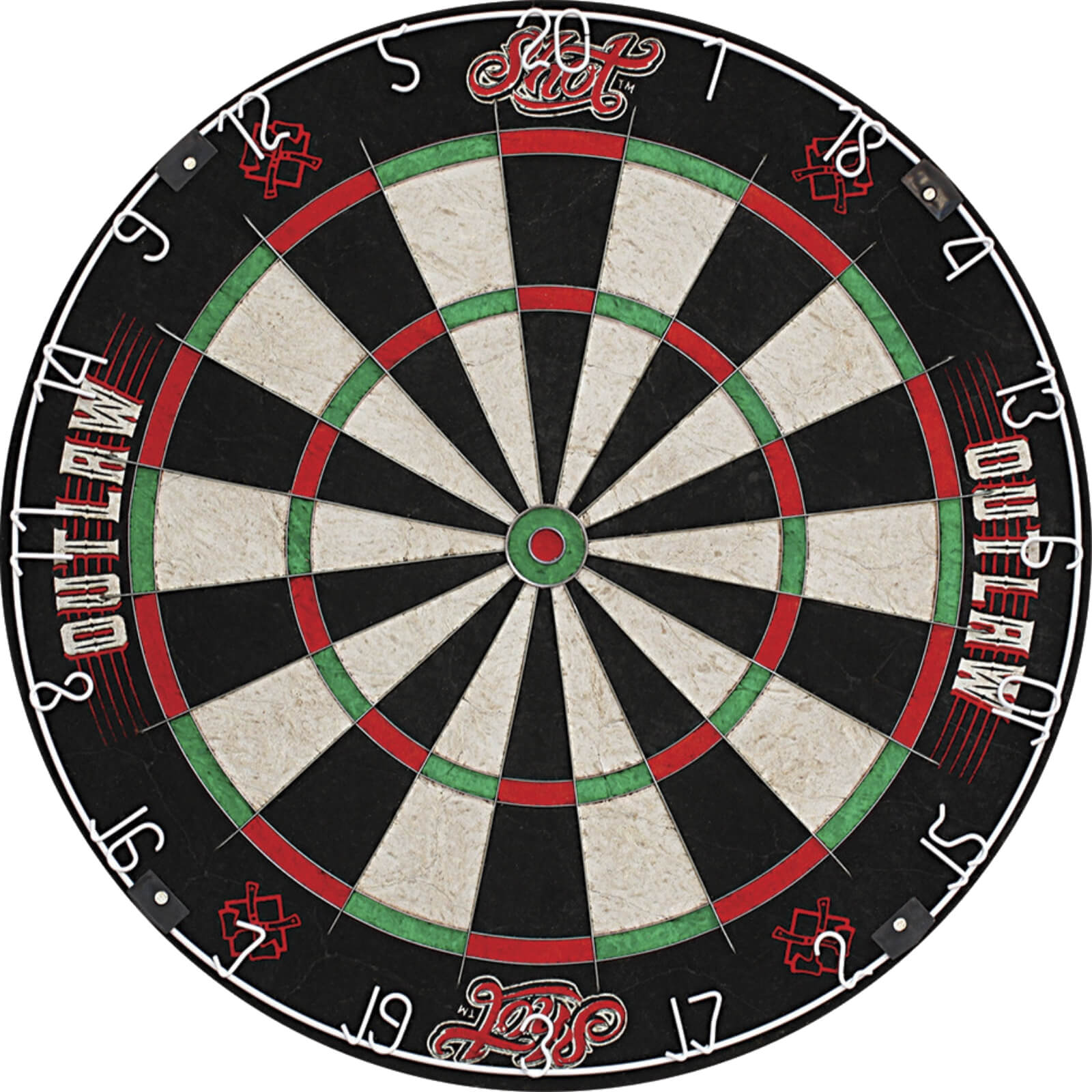 Dartboards - Shot - Outlaw Dartboard