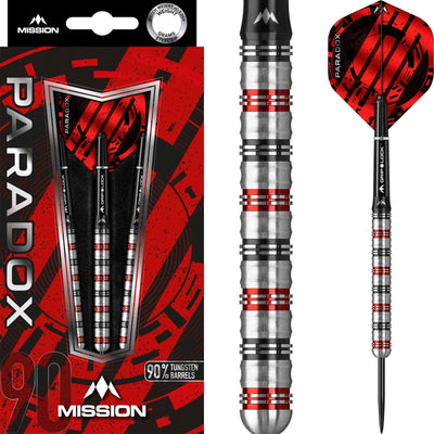 Darts - Mission - Paradox M1 Darts - Steel Tip - 90% Tungsten - 21g 23g 25g
