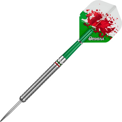 Darts - Designa - Patriot-X Darts - Wales - Steel Tip - 90% Tungsten - 22g 24g
