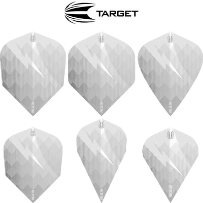 Dart Flights - Target - Phil Taylor Gen 6 Dart Flights