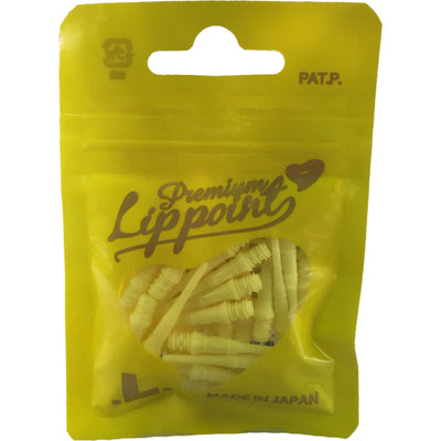 Soft Tip Accessories - L-Style - Premium Lip Point Soft Tip Dart Points - Bag of 30 Yellow