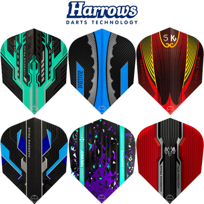 Harrows Darts - Dart Flights - Harrows - Prime - Standard Dart Flights -